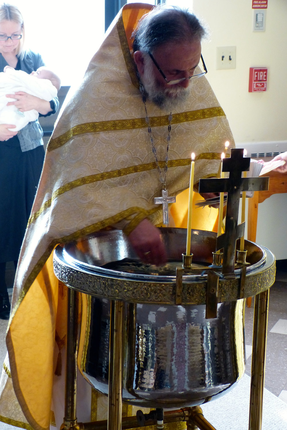 Baptism of Peter Retakh 2017