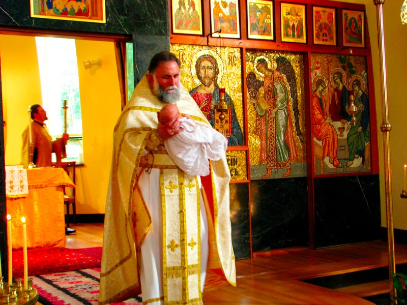 Baptism of Robert Michael Arida 2010
