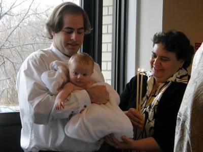 Baptism of Anna Arida 2009