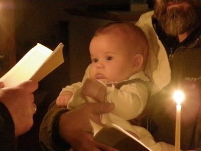 Baptism of Anna Victoria 2009