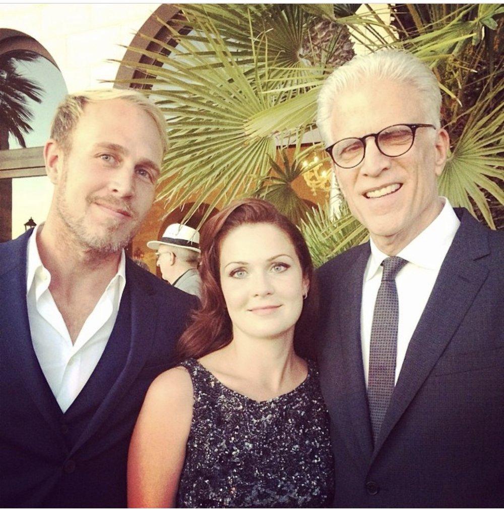 Ted Danson, Lauren Verbicky 2015 Oceana Gala