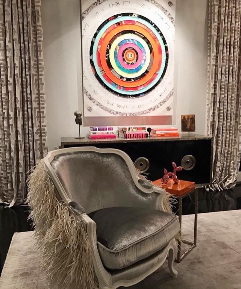 James Verbicky Artwork Install Contemporary Interior Design