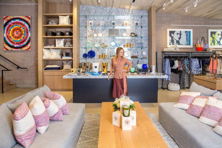 Elyse Walker Showroom, Newport Beach, California via Harpers Bazaar