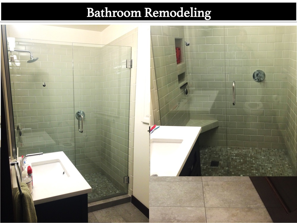 Bathroom Remodel Leimer Construction - Whole bathroom remodel