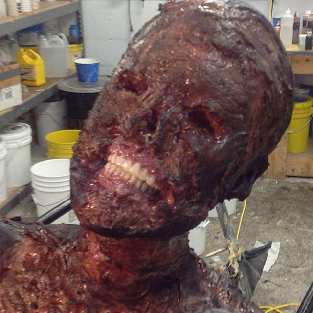 #Shiva in progress. Hannibalseason2 #konomo #siliconebody #siliconefabrication #makeupfx #gore #burn @10.shock