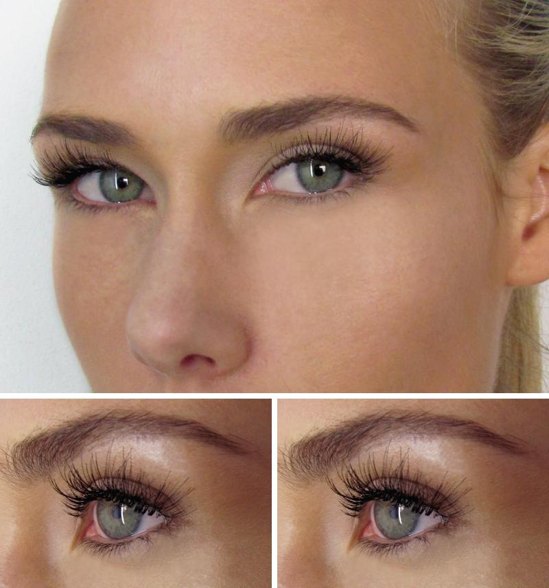 corrector makeup  medium individual lashes