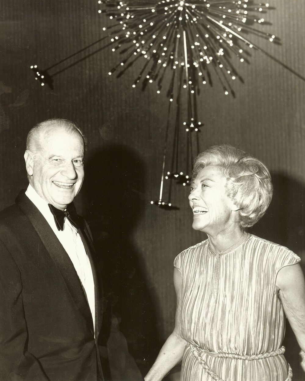 Stew and Marjorie enjoy an evening at the Palm Springs Art Museum
