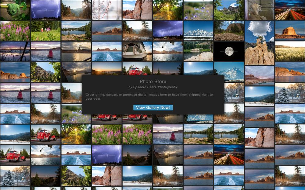 Photo Store Screen