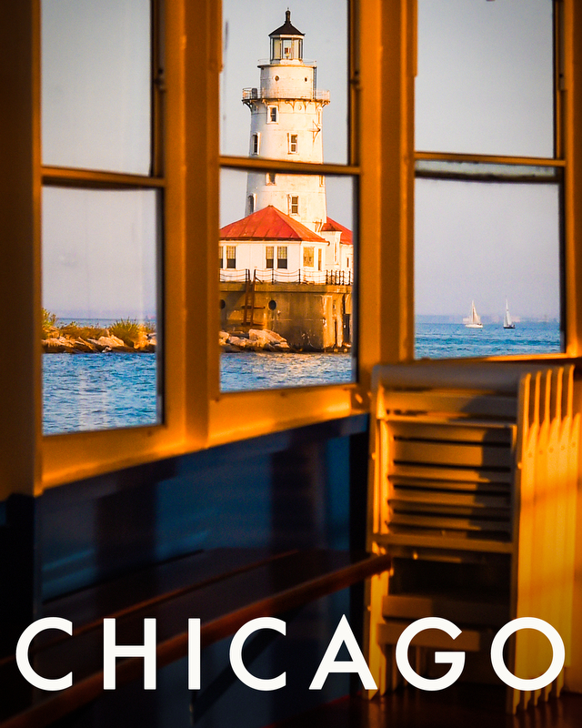 The Chicago Lighthouse, May 2016. Copyright: Shanna Lockwood