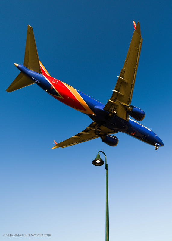 Aug 6, 2018; Dallas, TX, USA; Southwest aircraft fly over Bachman Lake on arrival at Love Field. Mandatory Credit: Shanna Lockwood