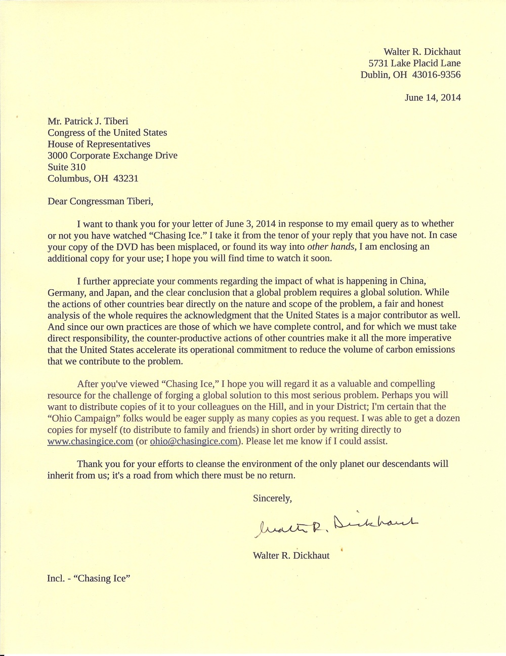 Constituent response to letter from rep tiberi dear congressman constituent response to letter from rep tiberi dear congressman tiberi thecheapjerseys Image collections