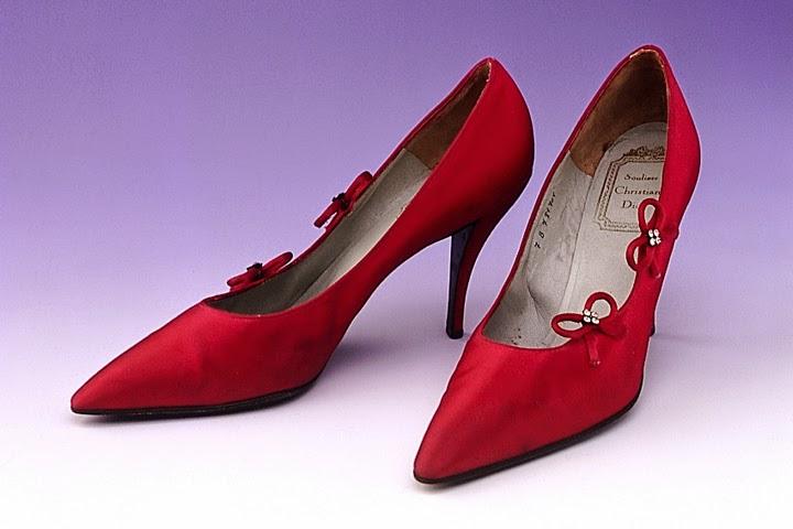Christian Dior First Stiletto Heel in 1953