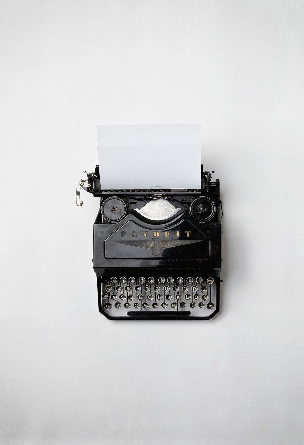 WRITING & COMMUNICATIONS -