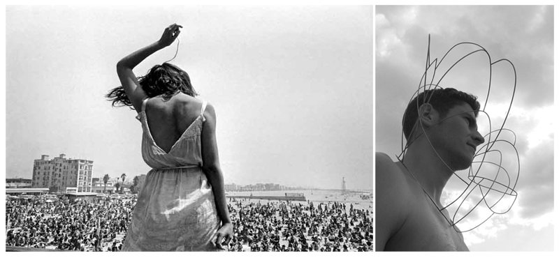 Picture:                                                                                                                            Necklace:            Dennis Stock                                                                                                                  Interpretation of the picture by Nelly                                                                                                                                             Van Oost