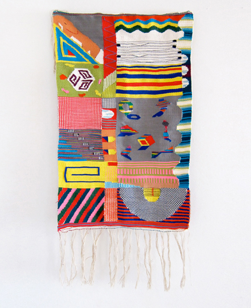 fyeahwomenartists :   Hannah Waldron  KURUKURU  Weaving