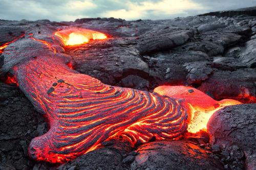 sapphire1707: Lava Waves by JoshHeidebrecht