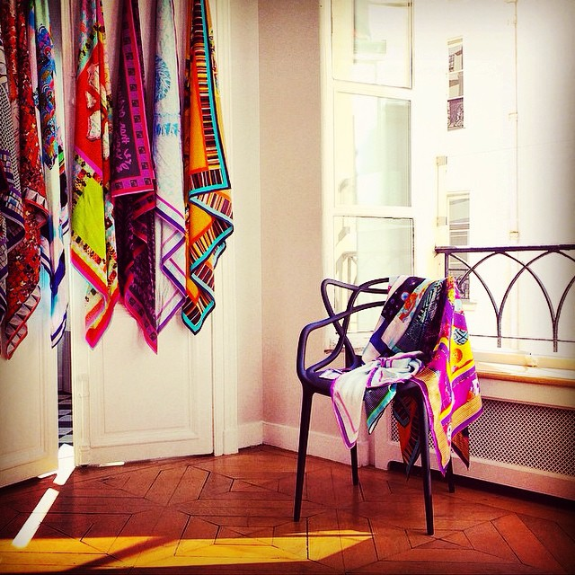 #YSA scarves in 🌞Paris🌞 with @megamegaprojects #regram
