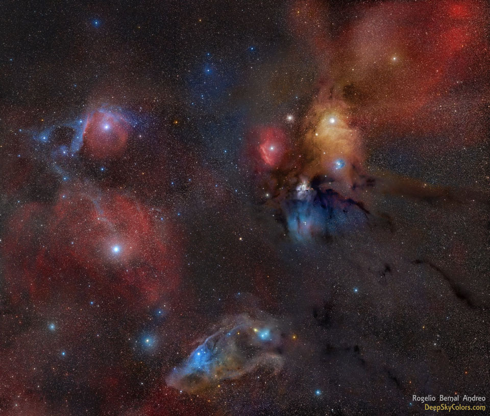 gravitationalbeauty :       Rho Ophiuchi Wide Field