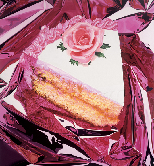 deborahneininger :       Jeff Koons.   Cake, 1995-1997 Oil on canvas