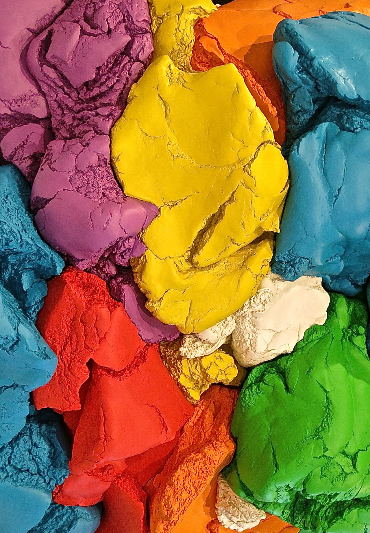 whitneymuseum :     Detail of  Jeff Koons 's  Play-Doh  (1994–2014) via  lizacharlesworth1 .