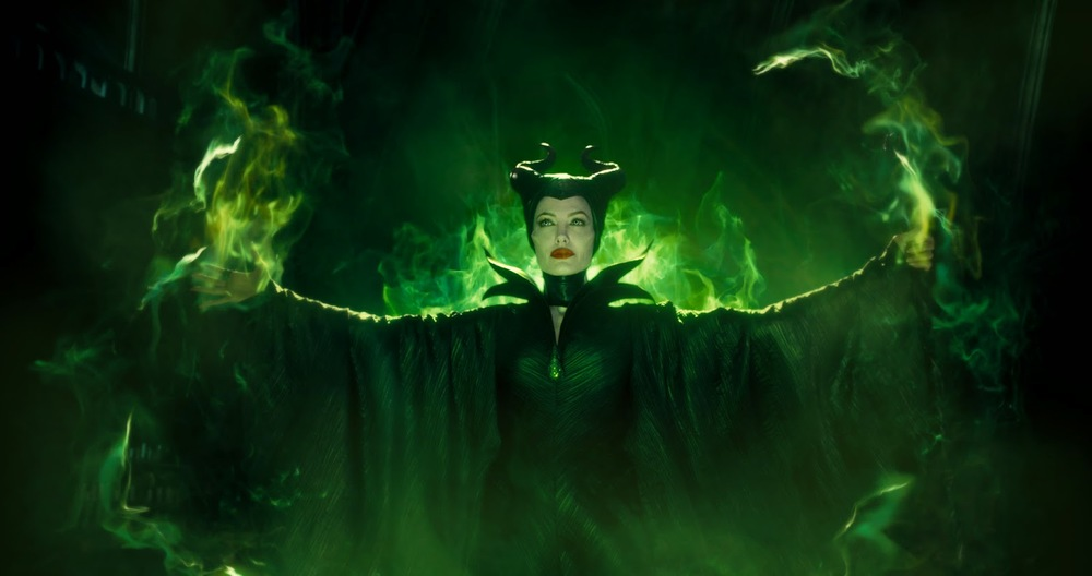 Angelina Jolie's Maleficent: Divinity in motion.