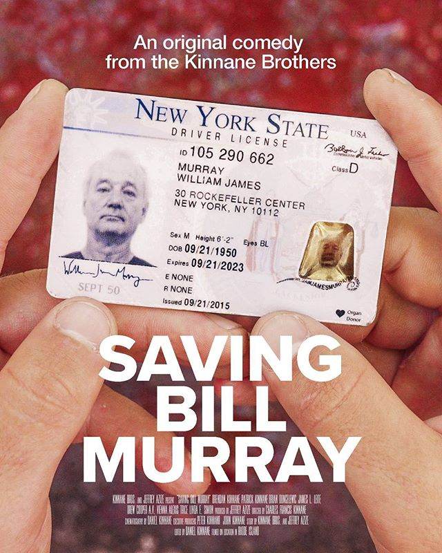 Saving Bill Murray is a screwball comedy written, produced, directed and filmed by 7 Kinnane Brothers. Teaser Coming Soon... #BillMurray #SavingBillMurray #KinnaneBrothers