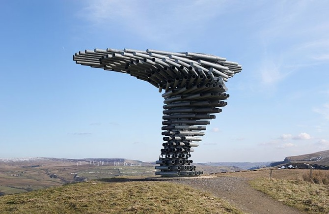 An image of the Burnley Panopticon, the Singing Ringing Tree