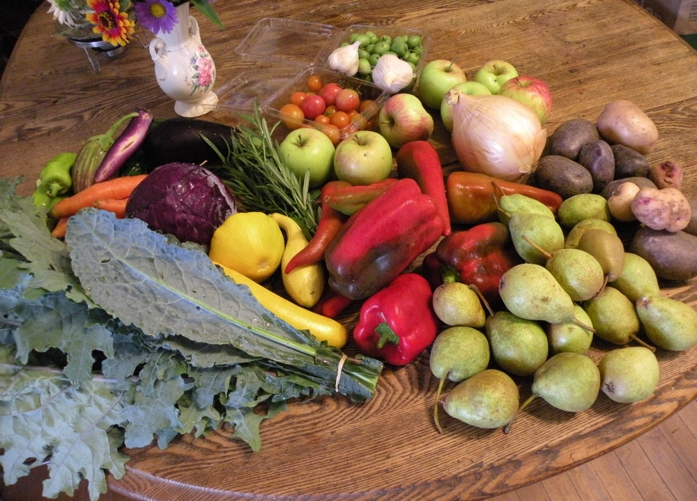 September 8 CSA share sample