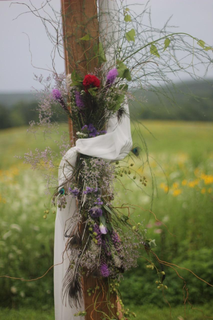 floral design for arbor
