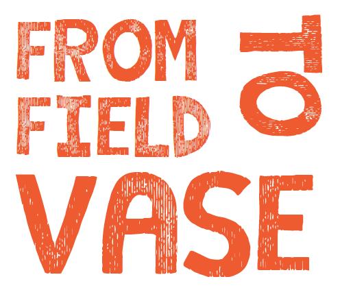 field to vase