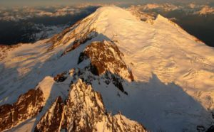 Mt. Baker, a mix of fire and ice. Photo from North Cascades Institute