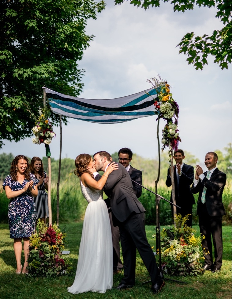 Wedding and Ceremony Flowers for August 2018 wedding photo by http://www.robandsamphoto.com/