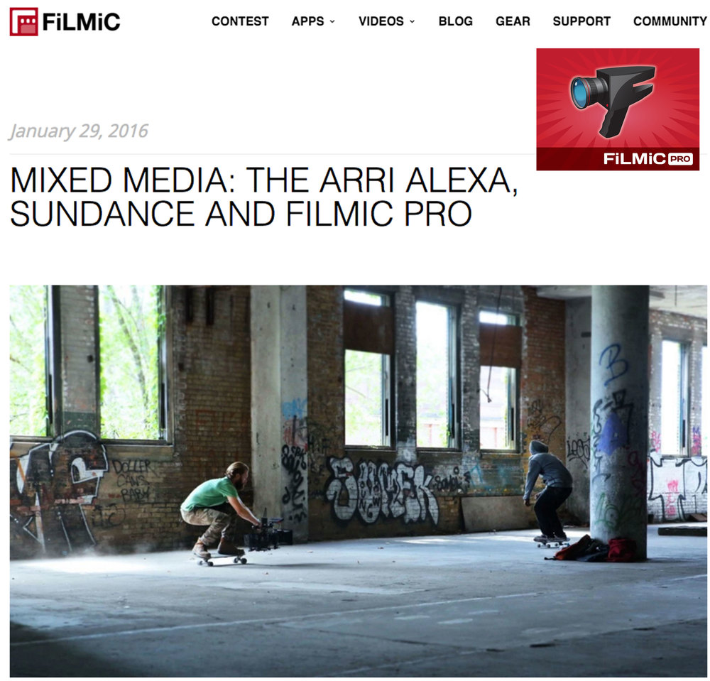 Filmic Pro Gear Interview