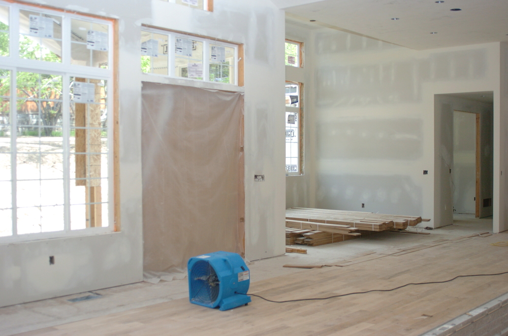 Sleepy Hollow Family Room - Drywall