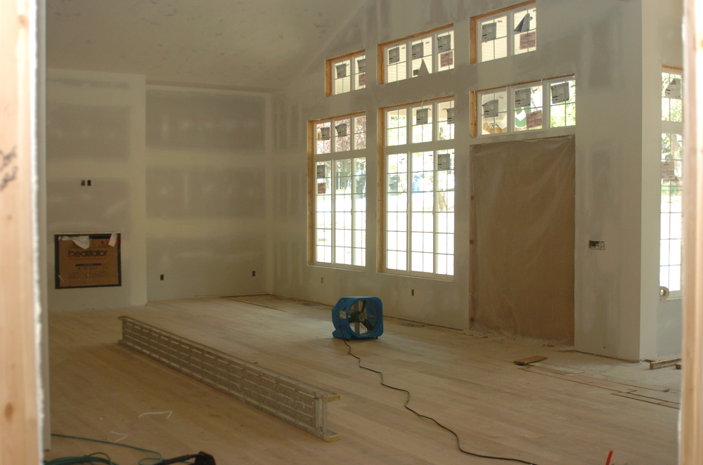 Bewsey - Drywall - Living Room 01.JPG
