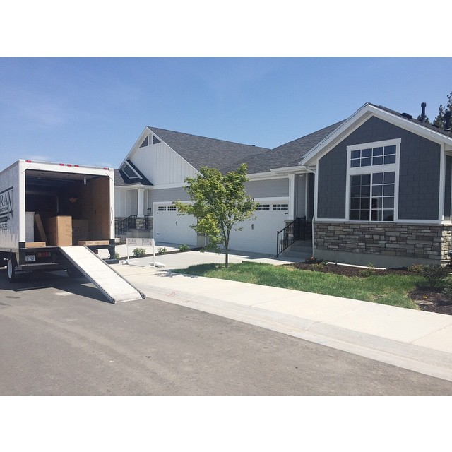 Delivering furniture for our model home at Bridlewood Court. In the next few days @houseofjadeinteriors will come work their magic. #bridlewoodcourt