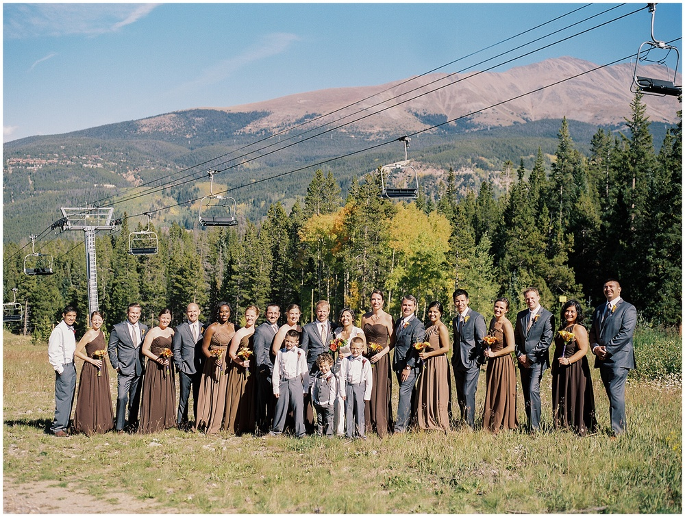 Mountain Wedding Family Portraits | Sonja K. Photography | Ten Mile Station Breckenridge Colorado