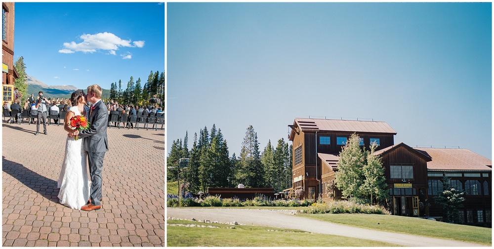 Mountain Wedding Ceremony | Sonja K. Photography | Ten Mile Station Breckenridge Colorado