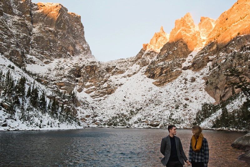 Engagement Photos | Sonja K. Photography | Dream Lake Rocky Mountain National Park Colorado