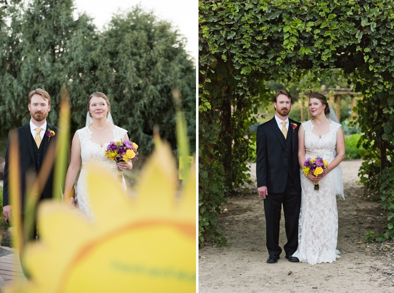 Bride and Groom Wedding Photos | Sonja K. Photography | Gardens on Spring Creek Fort Collins Colorado