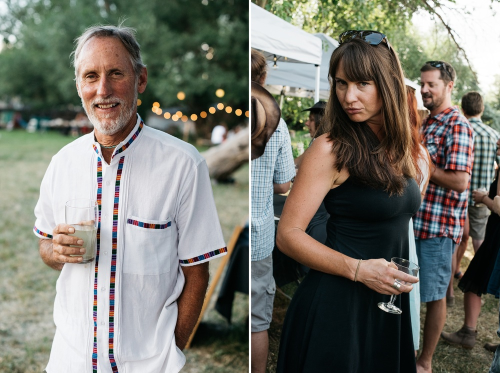 The Fortified Collaborations Heart of Summer Farm Dinner at Happy Heart Farm in Fort Collins, Colorado. Portrait and event photography by Sonja Salzburg of Sonja K Photography.