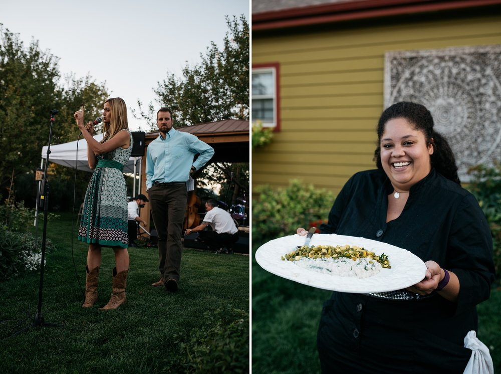 The Fortified Collaborations Mishawaka 100 Year Harvest Dinner at Grant Farms CSA near Fort Collins, Colorado. Event photography by Sonja Salzburg of Sonja K Photography.