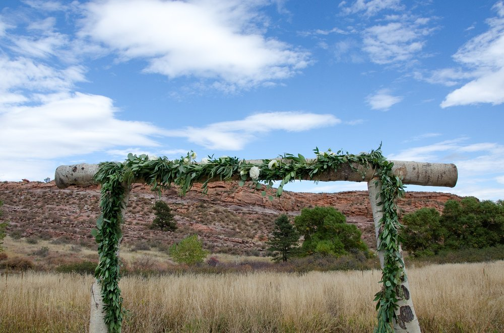 Soldier Canyon at Lory State Park near Fort Collins, Colorado. Wedding photography by Max Salzburg of Sonja K Photography.