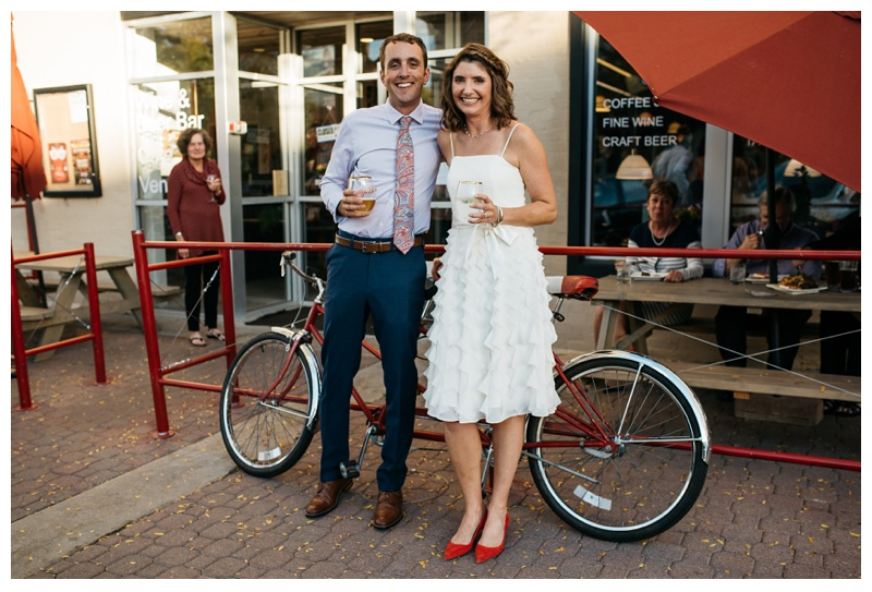 Amanda and Cameron at the Downtown Artery in Fort Collins, Colorado. Wedding photography by Sonja Salzburg of Sonja K Photography.