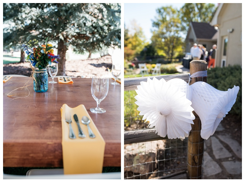 Wedding detail shots from a Fort Collins, Colorado wedding. Wedding photography by Sonja Salzburg of Sonja K Photography.