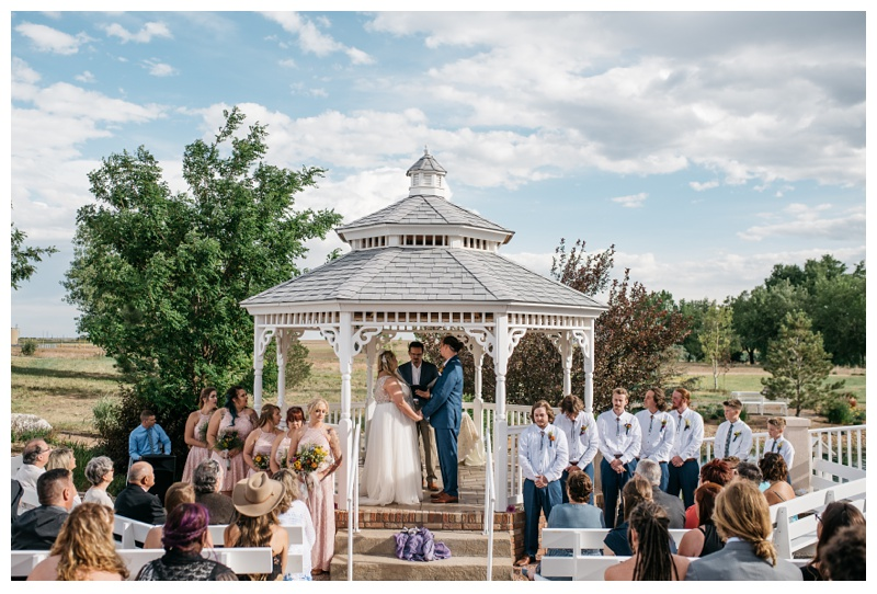 A beautiful wedding at Meadows Event Center near Platteville, Colorado. Wedding photography by Sonja Salzburg of Sonja K Photography.