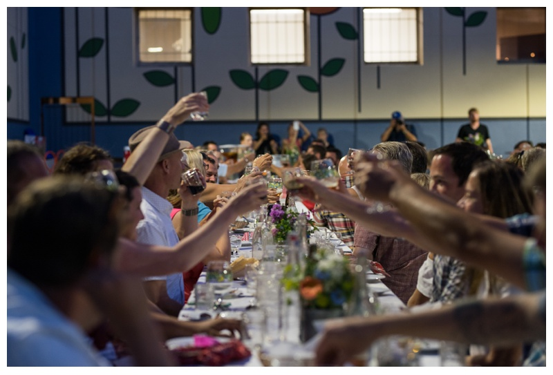 Cheers to another successful farm dinner by Fortified Collaborations. Event photography by Sonja Salzburg of Sonja K Photography.