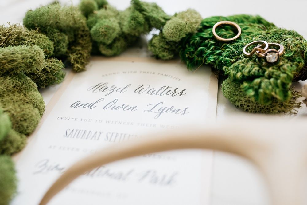 Custom wedding invitations by Basic Invite. Styling by Alyson Michelle of Things Like Stuff. Corporate product and styled shoot photography by Sonja Salzburg of Sonja K Photography.