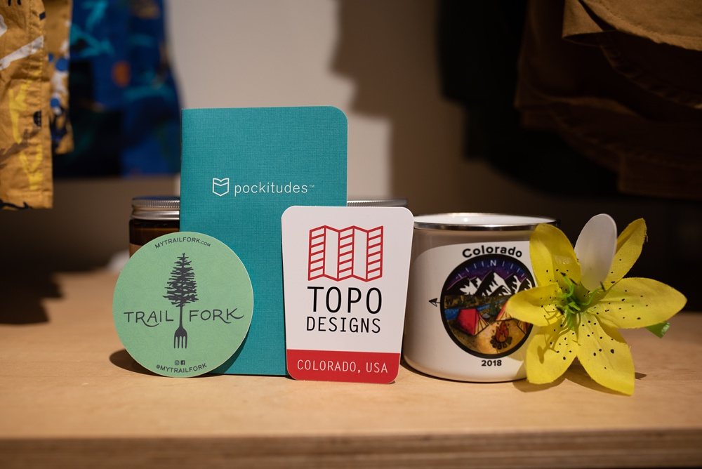 Sponsors for the Wellbody Women Summer TRIBE Program at Topo Designs in Old Town Fort Collins, Colorado. Event photography by Sonja Salzburg of Sonja K Photography.