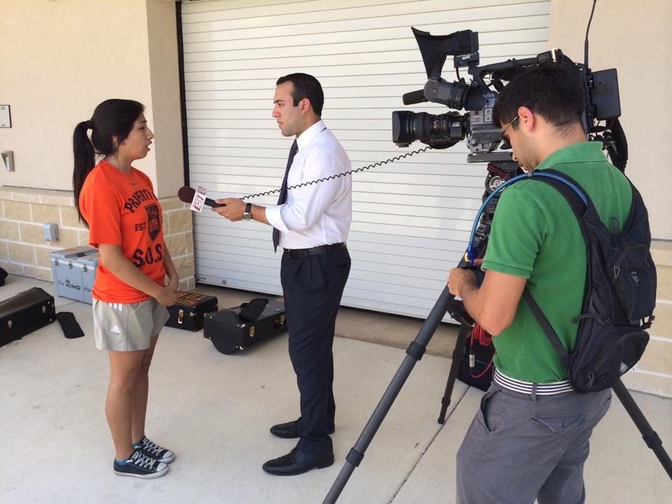 Esmi Valdez, interviews with local news station - KSAT